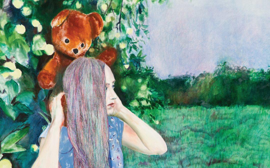 Grand Poet Art Collection kolekciju papildina Kristīnes Rublovskas mākslas darbs